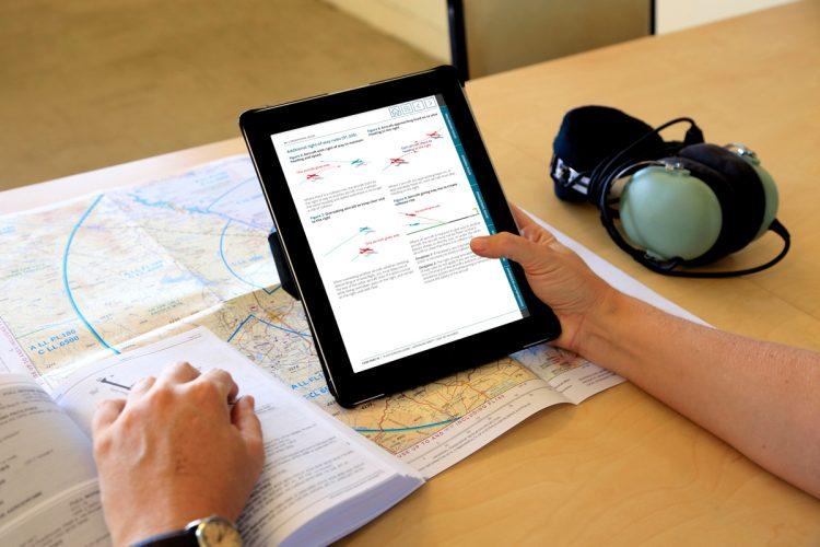 iPad reading the Plain English Guide